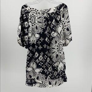 White House Black Market  Silk Dress S